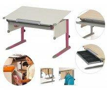 Biurko Dziecięce Kettler College Box II (Biały/ Różowy) 06604-4290